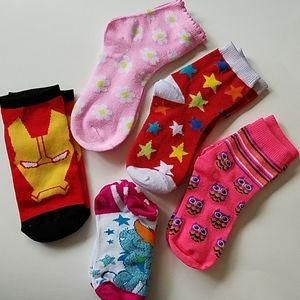 Toddler Socks Fun Styles and Colors